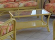 Meuble en rotin - Table contemporaine - en rotin - pour veranda - BRIENNE PM